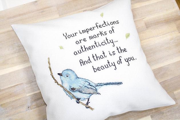 Blue bird - Pillowcase