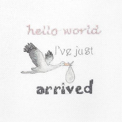 LETI 931 A gift for a newborn - Cross Stitch Kit LETISTITCH