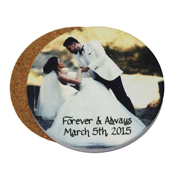 Custom photo gifts - coasters with photos - Jupiter FL