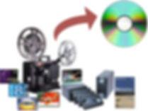 Video transfer Service at 60minutesphoto.com