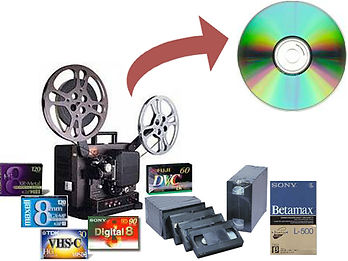 Video transfer Service at 60minutesphoto.com