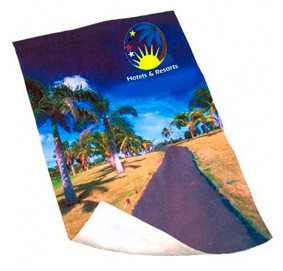 Custom beach towels for wedding gifts, bridal and groomsmen parties. Jupiter Florida
