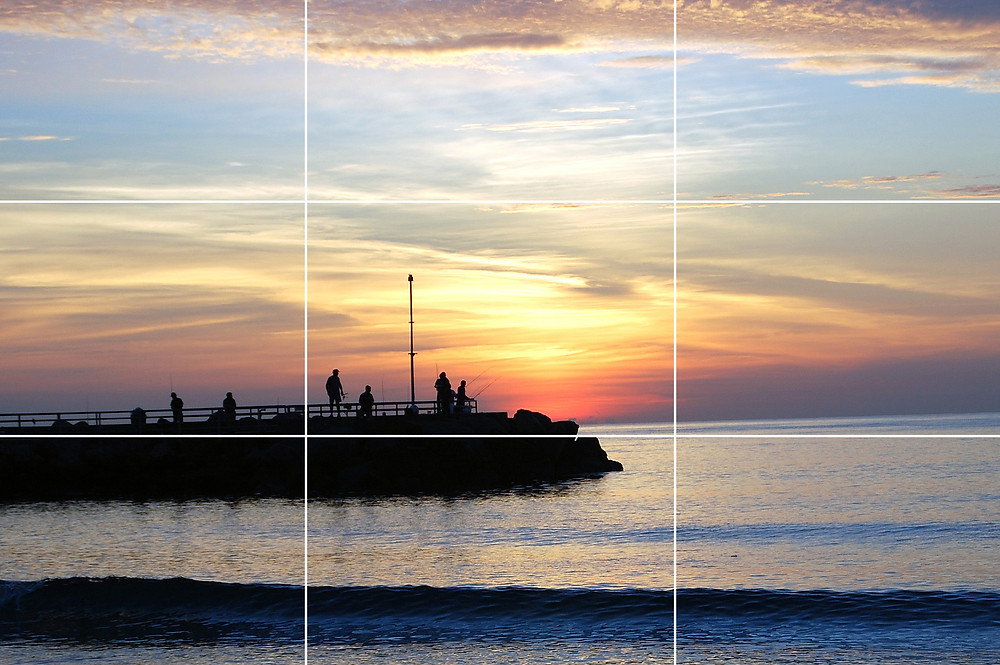 Rule of thirds photography composition tips.