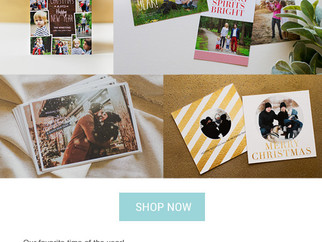 New Holiday Card styles and choices!