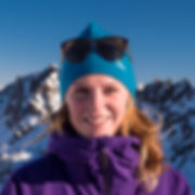 Verbier off piste - Johanna