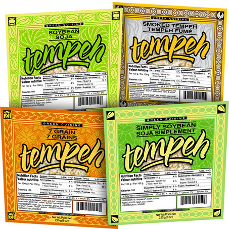 Green Cuisine Tempeh Line