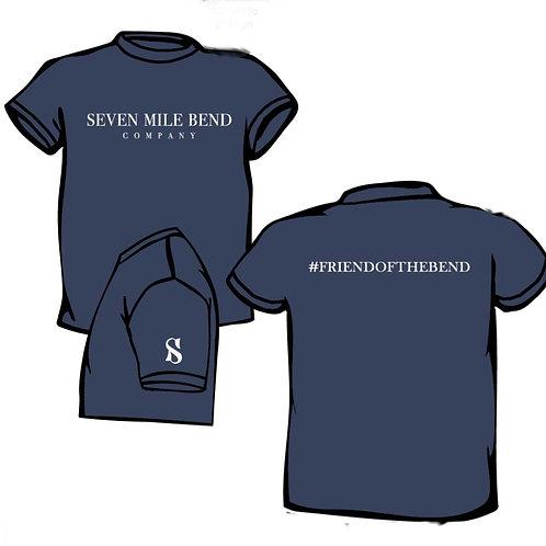 Friend of the Bend t-shirt - Navy