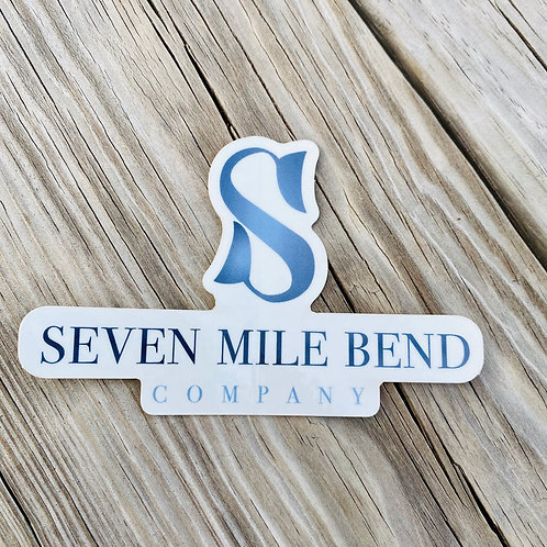 Seven Mile Bend Sticker