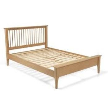 Corbett Oak Low Footend Bed King