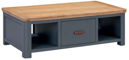 Treviso Midnight Blue and Oak Coffee Table