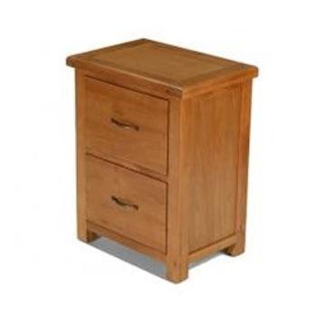 Earlswood Oak Office Filling Cabinet