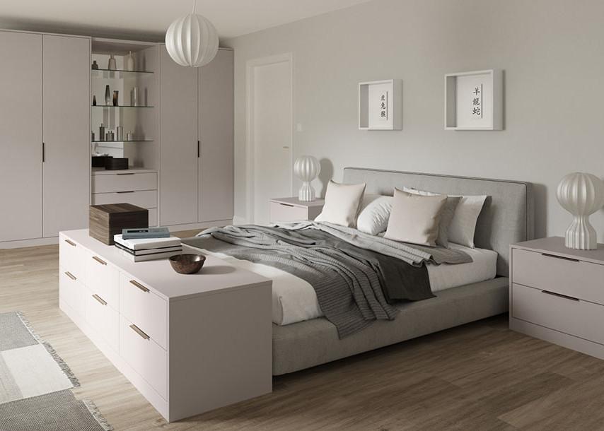 Zeluso Bedroom Cashmere