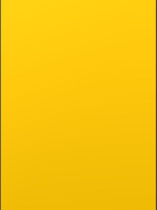 FOODSHELF Lacquered Mustard Yellow