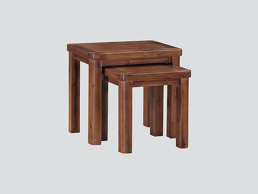 Andorra Acacia Nest of Two Tables