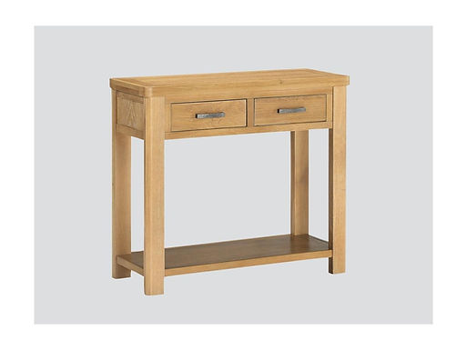 Andorra Washed Oak Two Drawer Console