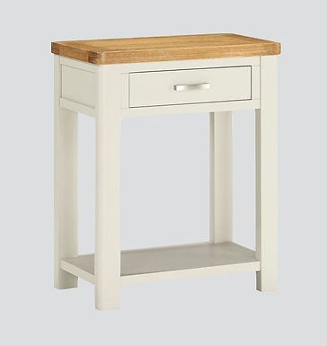 Andorra Painted One Drawer Console