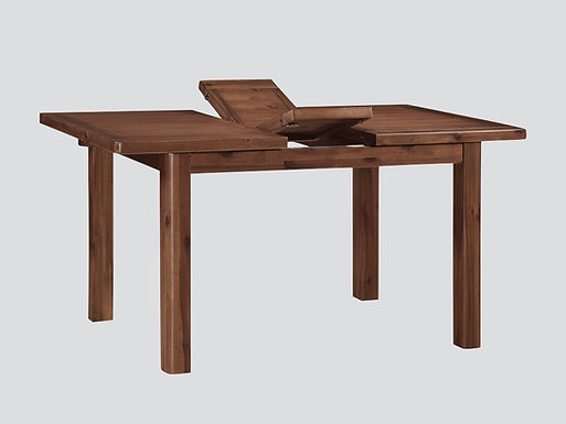 Andorra Acacia 4ft Butterfly Extension Dining Set