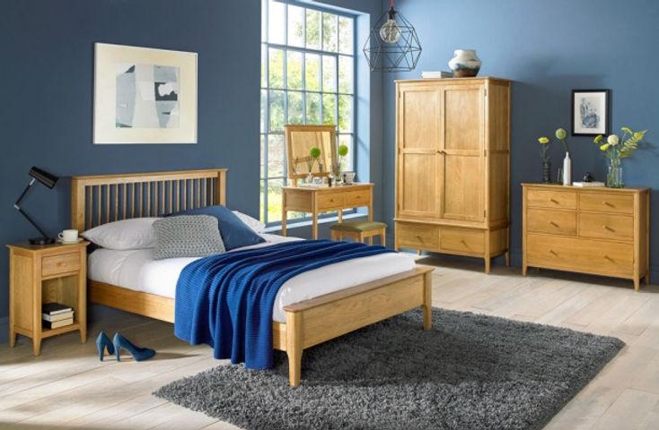 Corbett Oak Bedroom Furniture