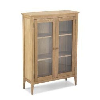 Wardley Oak Glazed Cabinet