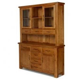 Earlswood Oak Large Dresser