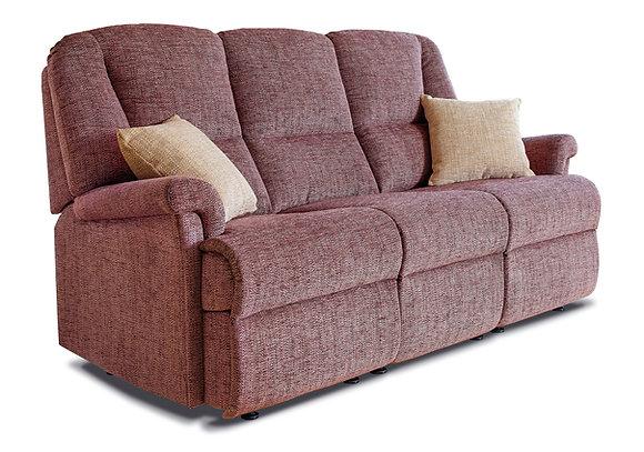 Sherborne Milburn Fabric Fixed 3-Seater Settee
