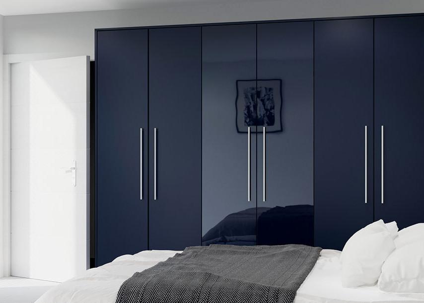 Furore Gloss Bedroom Midnight Blue
