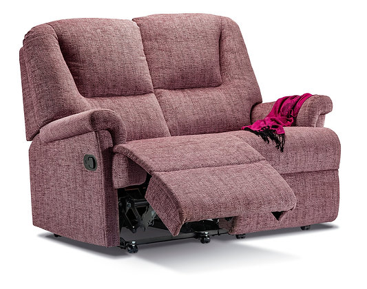 Sherborne Milburn Fabric Reclining 2-Seater Settee