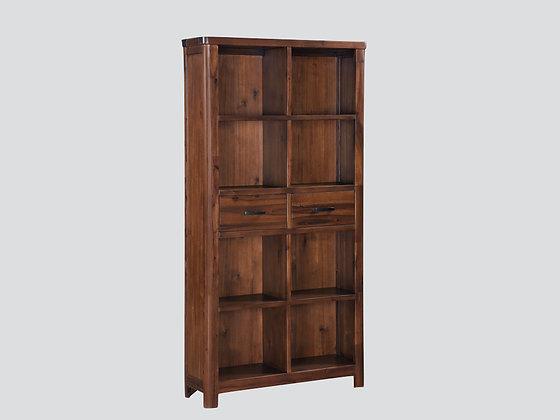 Andorra Acacia Tall Bookcase