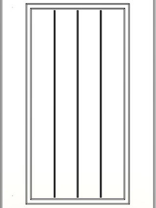 Colony Slatted Frame Lacquer White