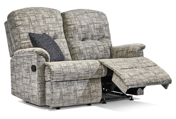 Sherborne Lincoln Standard Fabric Reclining 2-Seater Settee