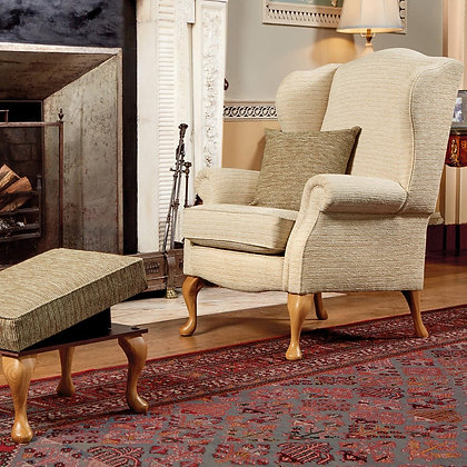 Sherborne Kensington Chair and Footstool