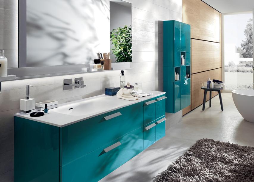 Aquo Bathroom by Scavolini