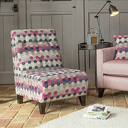 Alstons Upholstery Armless Accent Chair