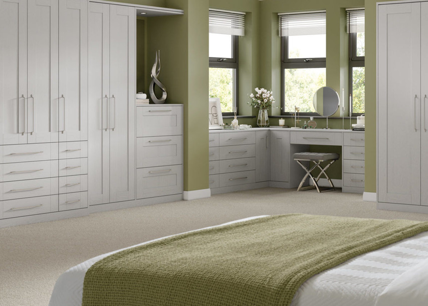 Pellaro Grey Ash Bedroom