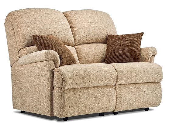 Sherborne Nevada Small Fabric Fixed 2-Seater Settee