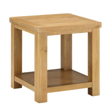 Andorra Washed Oak End Table