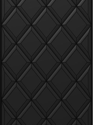 EXCLUSIVA Glamour Lacquered Black Slate