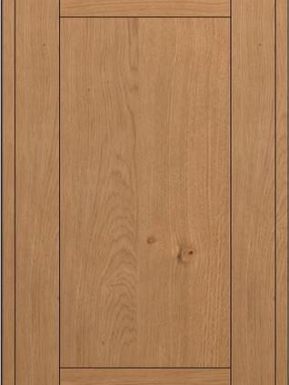 FAVILLA Wooden Frame Nodato Oak