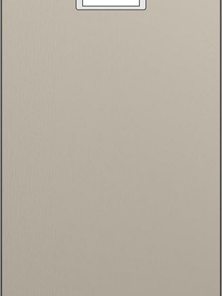 DSK Lacquered Knotted Oak Tempera Grey
