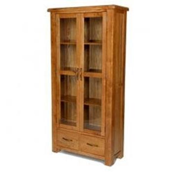 Earlswood Oak Glazed Display Cabinet