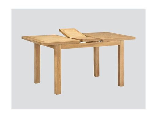 Andorra Washed Oak 4ft Butterfly Extension Dining Set