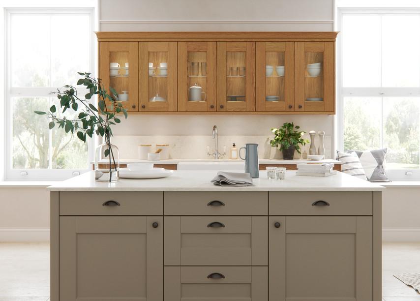 Solva Natural Oak Farringdon Grey