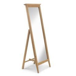 Corbett Oak Chevel Mirror