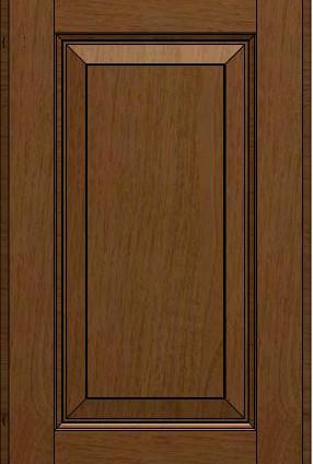 Madeleine Line Frame Chestnut