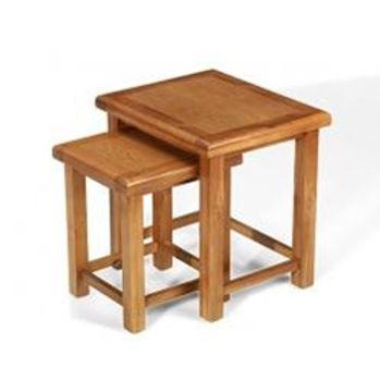 Earlswood Oak Nest Of 2 Tables