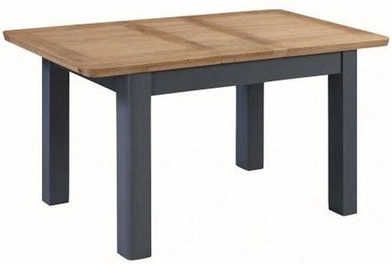 Treviso Midnight Blue 120cm Extending Dining Table