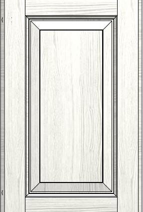 Madeleine Line Frame White Ash