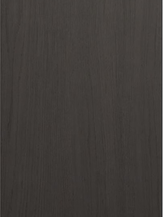 CARATTERE Plain Veneered Graphite Oak