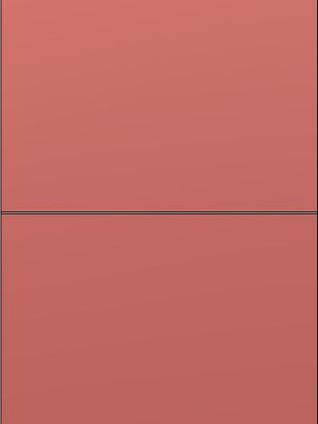 TETRIX Unicolour Coral Red