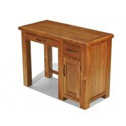 Earlswood Oak Single Computer Desk